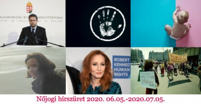 Nőjogi hírszüret - 2020. június 05. - 2020. július 05.